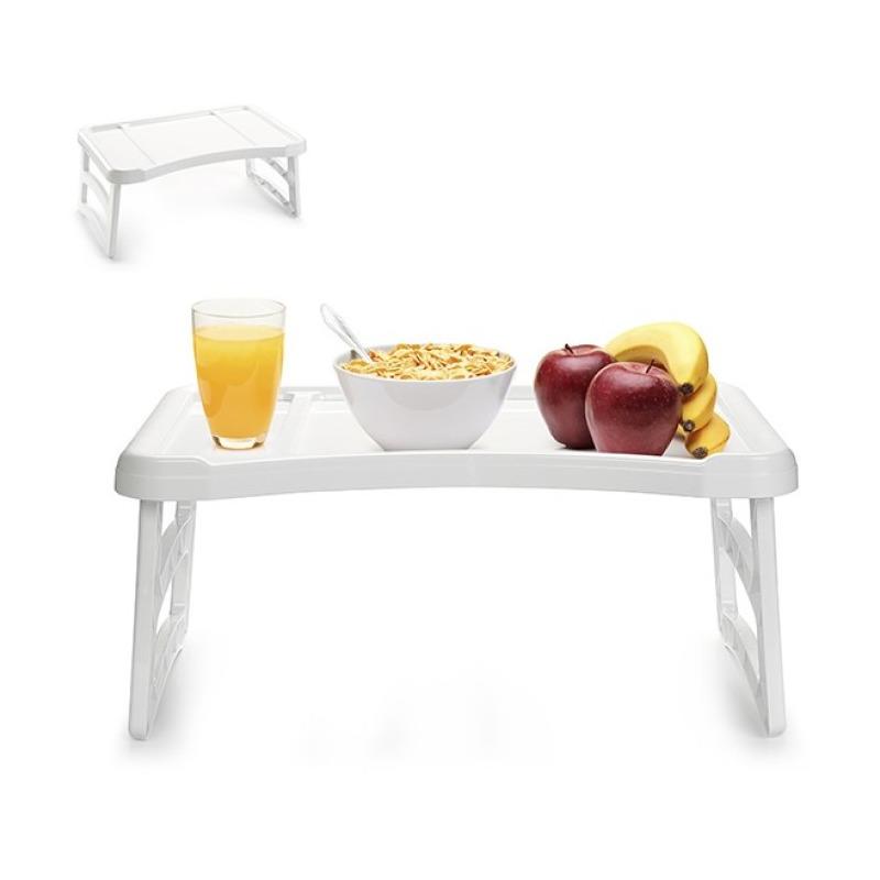 Ontbijt op bed dienblad/tafeltje 51 x 33 cm